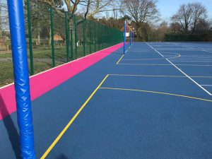 Netball pitches
