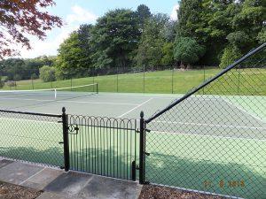 Tennis court Moutrie - Leeds