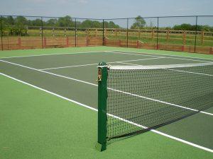 Tennis court Well Meadows _ Sheffield