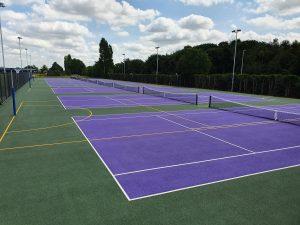 New College MUGA multi use sports courts